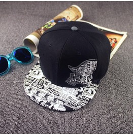 Punk Casual Unisex Flat Hat,Summer Skull Adjustable Baseball Caps