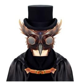 Steampunk Plague Bird Halloween Rivet Goggles Masquerade Ball Masks