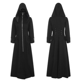 Gothic Steampunk Women Swallow Cotton Tailcoat