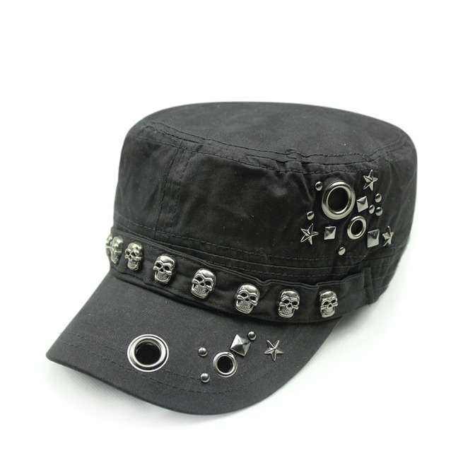 rebelsmarket_retro_punk_skull_adjustable_flat_top_rivets_cap_casual_unisex_fashion_hat_hats_and_caps_5.jpg