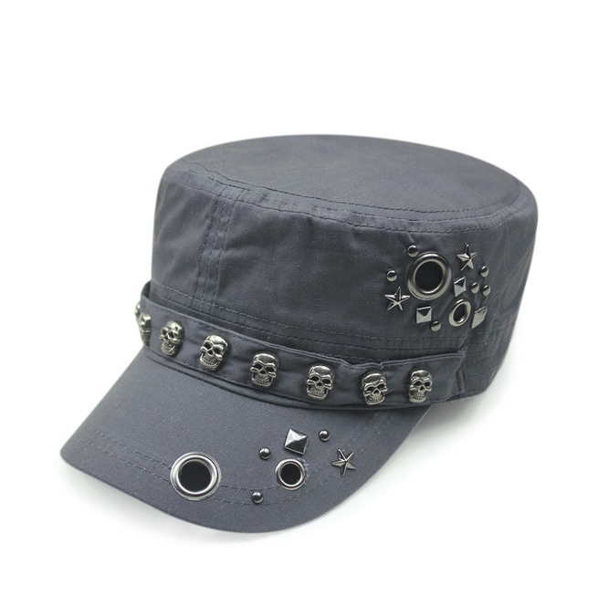 rebelsmarket_retro_punk_skull_adjustable_flat_top_rivets_cap_casual_unisex_fashion_hat_hats_and_caps_2.jpg