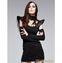 Black Gothic Cool Fantastic Collar S 143 Bk