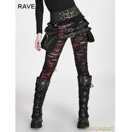 Steampunk Waistband With Bag S 186