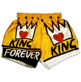 King Forever Men`s Muay Thai Boxing Shorts Conor Mc Gregor Mma Ufc Trunks