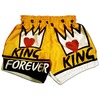 Rebelsmarket king forever muay thai boxing shorts conor mc gregor mma ufc trunks unisex  shorts and capris 4
