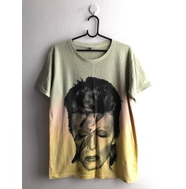 David Bowie Glam Pop Fashion T Shirt L