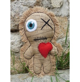 Little Mummy Voodoo Doll, Wicca, Occult, Esoteric, Witch, Valentine