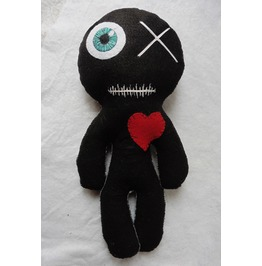 Big Black Mummy Voodoo Doll, Wicca, Witch, Gothic, Occult, Valentine
