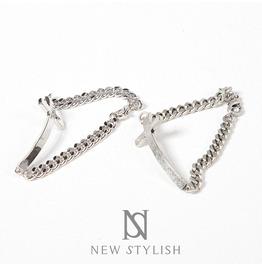 Sideways Curved Cross Bracelet 83