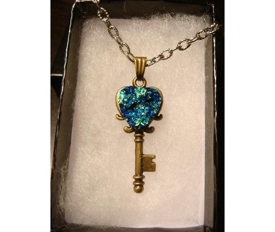 blue_green_faux_heart_druzy_drusy_key_necklace_pendants_4.JPG