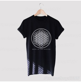 Bring Me The Horizon Sempiternal Black White Unisex T Shirt