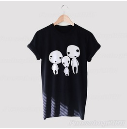 Spirit Of The Trees Studio Ghibli T Shirt