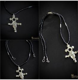 Tuareg Necklace, Saharan Gris Gris, Tribal Necklace, Amulet Talisman,