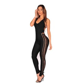 Bodycon Bodysuit Fitness Playsuit