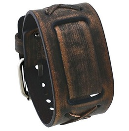 Nemesis #Bfxbb Vintage Leather Cuff Wrist Watch Band