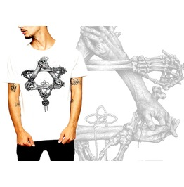 Medieval T Shirt Gothic Occult Cotton Tee By Rancid Nation