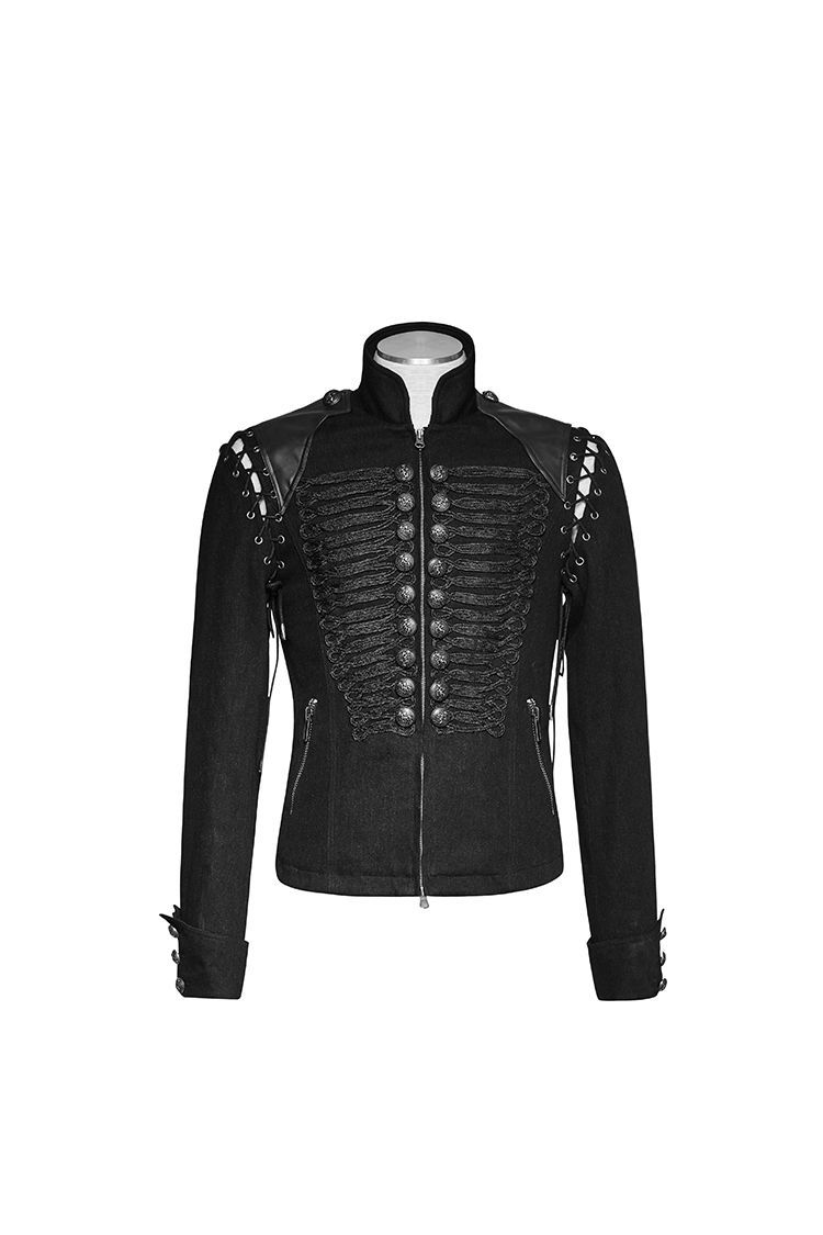 rebelsmarket_punk_rave_mens_steampunk_gothic_rock_metal_military_short_black_army_jacke_jackets_4.jpg