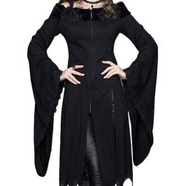 Dare to Wear Victorian Gothic Plus Size Alchemy Corset Top in Onyx