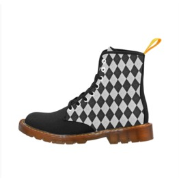 Harlequin Ladies Combat Boots