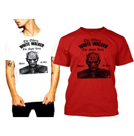 White Walker King T Shirt Soft Tee By Rancid Nation