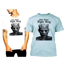 White Walker King Ii T Shirt Soft Tee By Rancid Nation