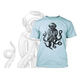 Vintage Retro Steam Punk T Shirt Soft Tee By Rancid Nation