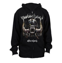 Motorhead Hooded Sweatshirt Official Warpig Aftershock Zip Hoodie