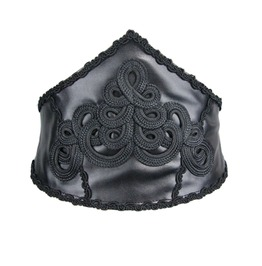 Women's Gothic Embroidered Waistband