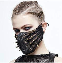 Punk Bronze Sharp Nails Mask