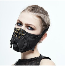 Punk Pointed Nails Bat Mask