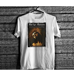 Marilyn Manson T Shirt Vintage 90s Goth Occult Rock Soft Cotton Tee