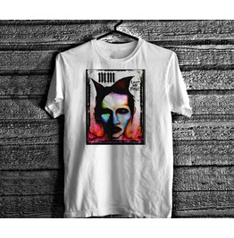 Marilyn Manson T Shirt Vintage 90s Goth Occult Rock Devil Soft Cotton Tee