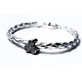 Submissive Dominant Bracelet Bdsm Symbol Triskele Triskelion Slave Cuff