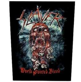 Slayer Back Patch Official 29 Cm X 35 Cm