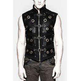 Darkstar Gothic Cyberpunk Cybergoth Vest Top