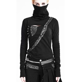 Deadly Gothic Cyberpunk Cybergoth Apocalyptic Top