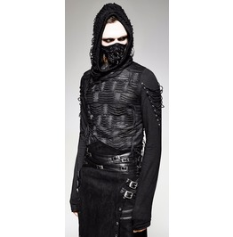 Lost Souls Hooded Tattered Apocalyptic Gothic Top