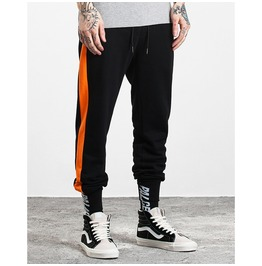 Men's Contrast Stripe Casual Drawstring Jogger Pants