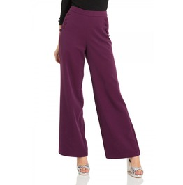 Voodoo Vixen Stacey Purple 40s Style Trousers