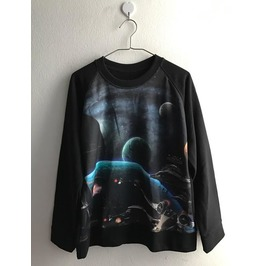 Out Of Space Funky Pop Rock Indie Punk Jumper Sweatshirt