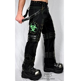 Cryoflesh Biohazard Decay Cyber Apocayptic Industrial Punk Pants