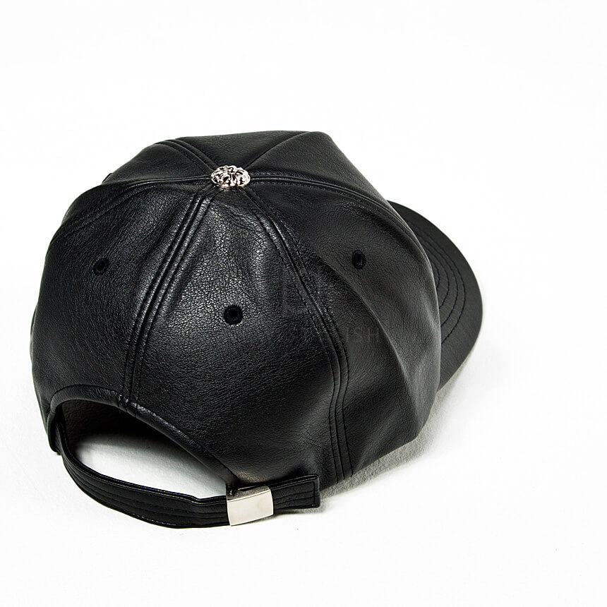 rebelsmarket_safety_pin_chain_accent_black_leather_cap_hat_18_hats_and_caps_6.jpg