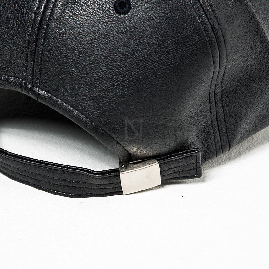 rebelsmarket_safety_pin_chain_accent_black_leather_cap_hat_18_hats_and_caps_5.jpg