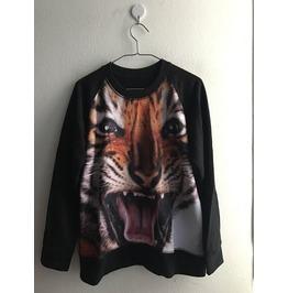 Tiger Wild Animal Punk Pop Indie Rock Jumper Sweatshirt