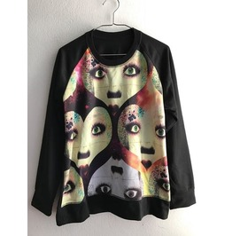 Face Funky Punk Pop Indie Rock Jumper Sweatshirt
