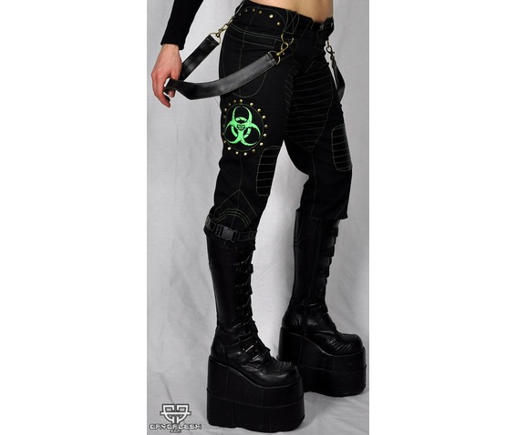 cryoflesh_biohazard_decay_cyber_goth_industrial_shorts_rompers_and_shorts_2.jpg