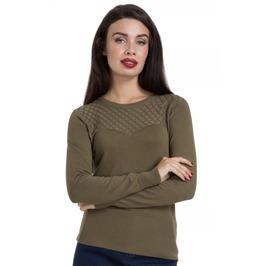 Voodoo Vixen Jean Khaki 40s Sweater