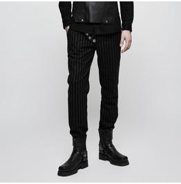 Punk Rave Men's Multi Buttons Military Uniform Leisure Trousers K303