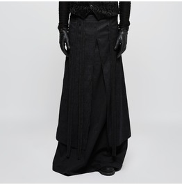 Punk Rave Men's Gothic Double Layers Jacquard Kilt/Skirt Q340