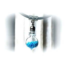 Psychedelic Jewelry Bottle Pendant Collar Choker Necklace Hippie Boho Chic